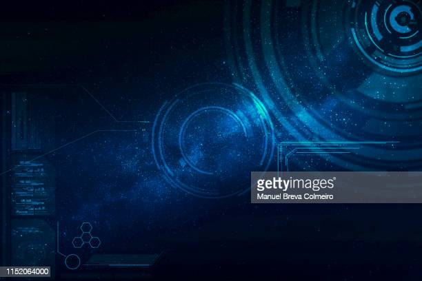 futuristic background - data visualization stock pictures, royalty-free photos & images