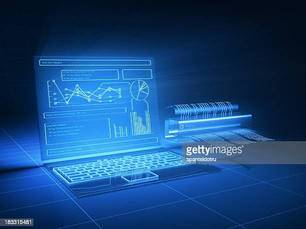 Futuristische computer