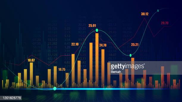 futuristic concept of global network suitable for world financial technology economic trends - data stock pictures, royalty-free photos & images