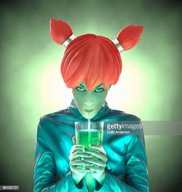 futuristic drink