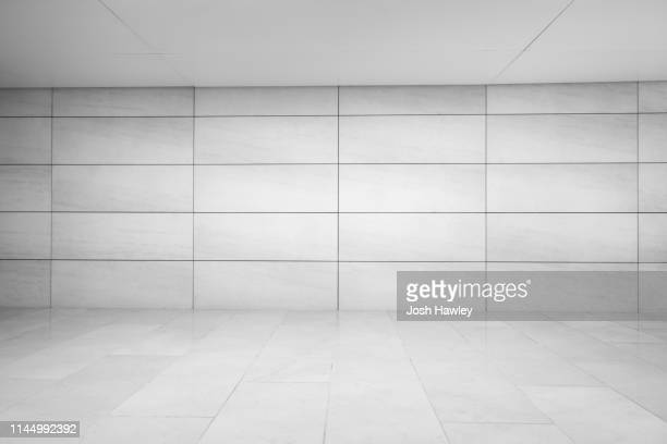 futuristic empty room, 3d rendering - ceiling stock pictures, royalty-free photos & images