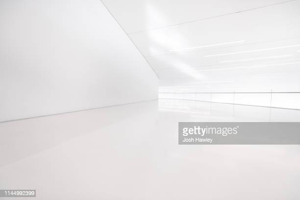 futuristic empty room, 3d rendering - geographical locations stock pictures, royalty-free photos & images