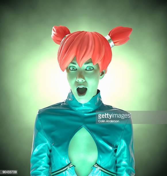 futuristic girl
