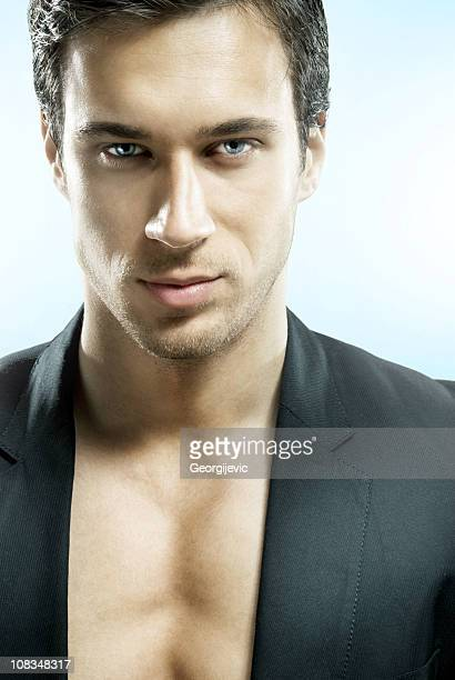 futuristic man - gigolo stock photos and pictures