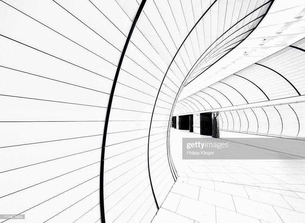 Futuristic Metro Station : Foto de stock