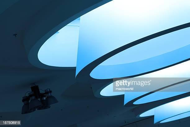 Futuristic Modern Building Interior