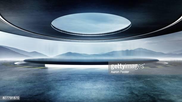 Futuristic Modern Studio