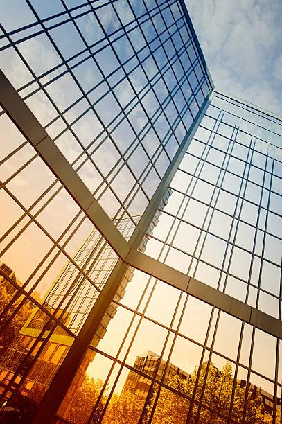 Futuristic office building