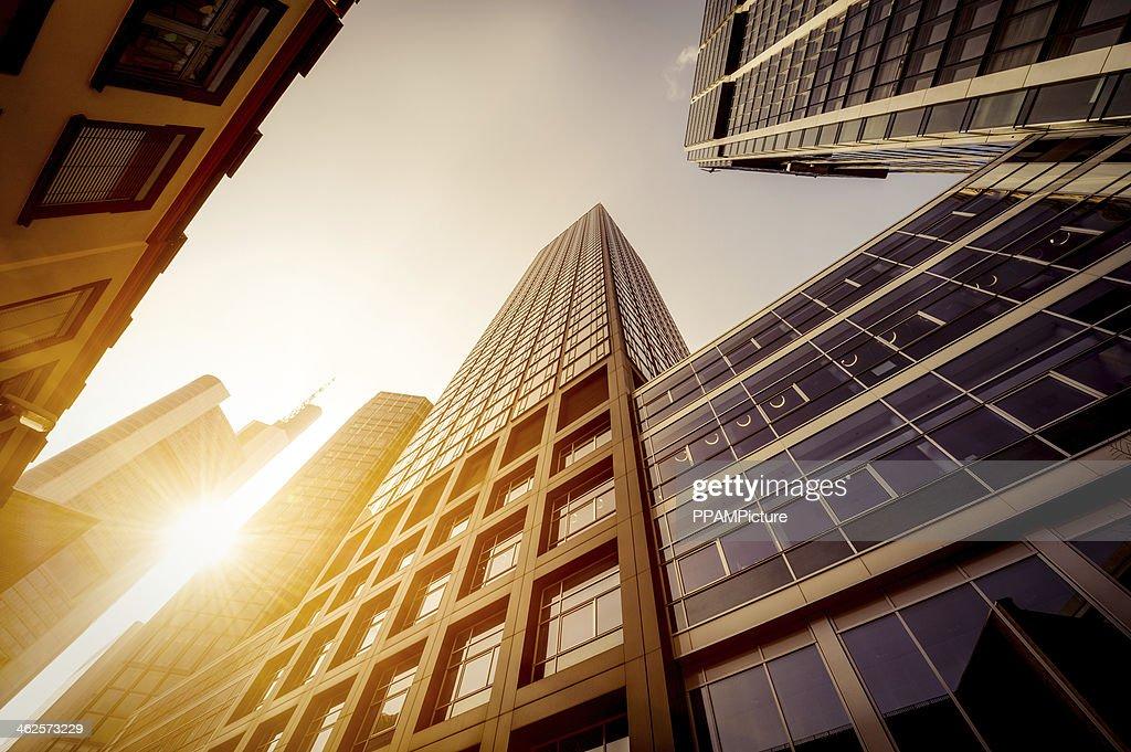 Futuristico uffici edifici : Foto stock