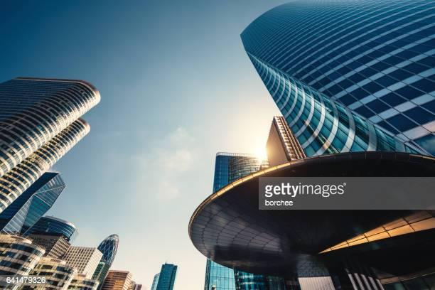 Futuristic Skyscrapers In Paris