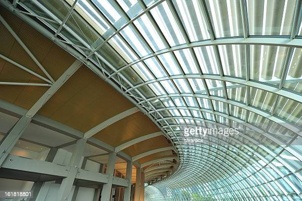 Futuristic Steel Roof