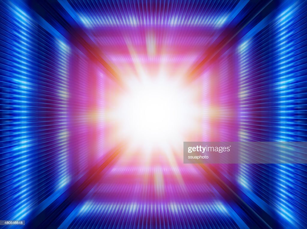 futuristic  tunnel : Stock Photo