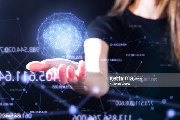 futuristic user interface - hud graphical user interface - fotografias e filmes do acervo