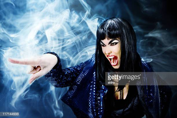 futuristic witch - ugly witches stock photos and pictures