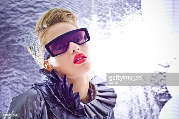 Femme futuriste