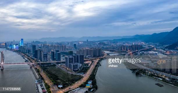 fuzhou city road, china - fuzhou stock pictures, royalty-free photos & images