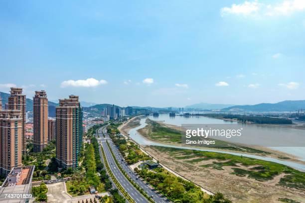 Fuzhou cityscape, Fujian, China