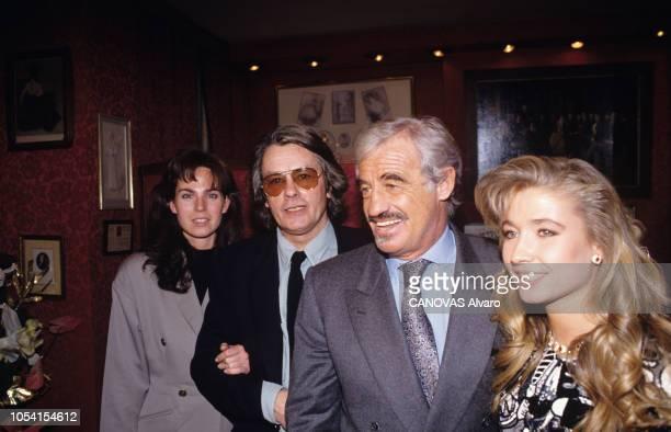 PARIS février 1992 Première de la pièce La trilogie marseillaise mise en scène par JeanLuc TARDIEU au théâtre des Variétés racheté par JeanPaul...