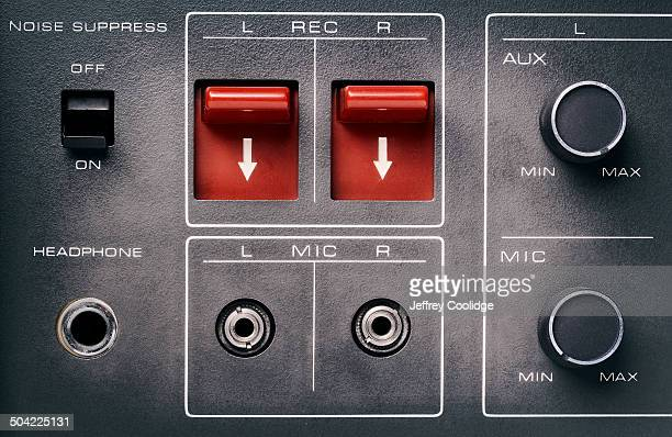 fx Tape Recorder Buttons