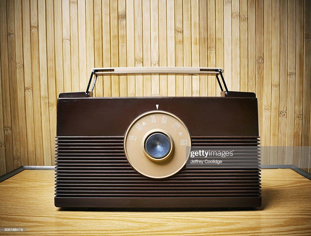 fx Vintage Radio : Stock Photo