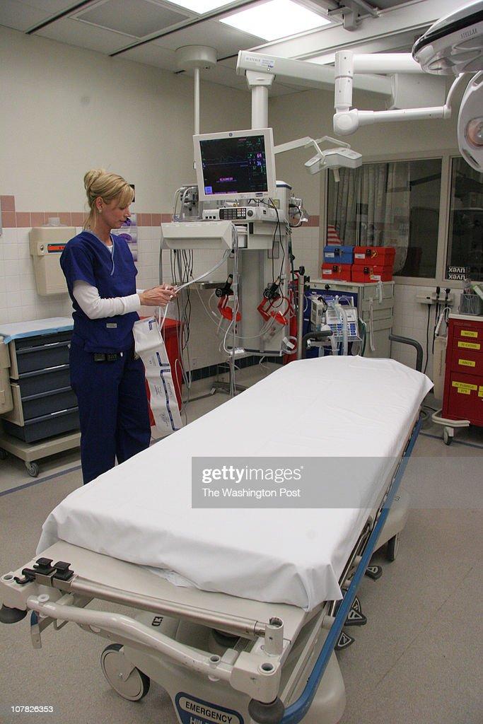FX-Inova- 11/14//05- Fairfax, VA- The expanded emergency department ...