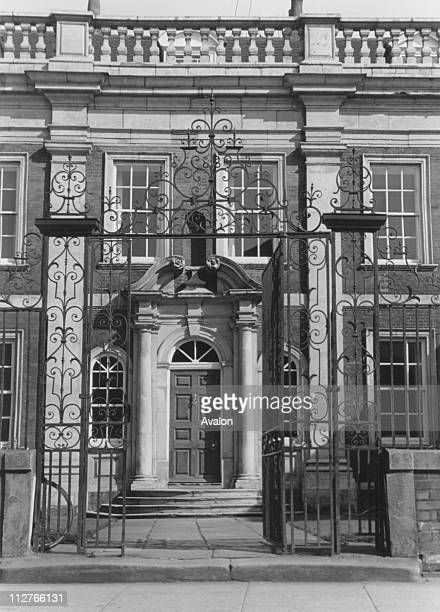Fydell House Boston Lincolnshire a fine example of Queen Anne architecture October 1965
