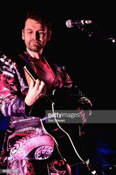 Fyfe Dangerfield performs on stage at The Royal Festival Hall on December 12 2017 in London England