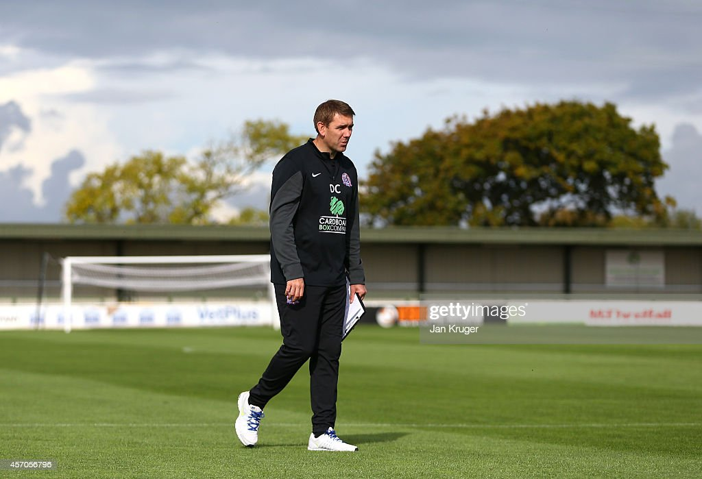 AFC Fylde v Buxton - FA Cup Qualifying Third Round : News Photo