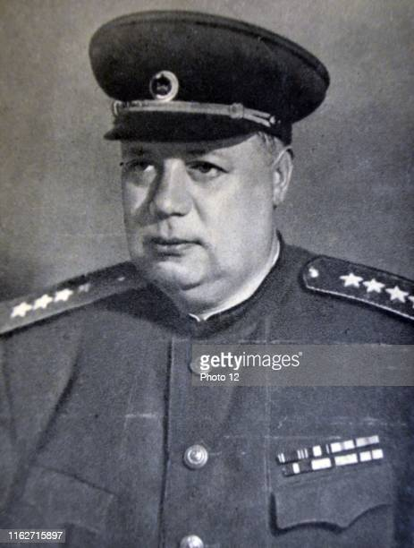 Fyodor Ivanovich Tolbukhin, 1894 -1949. Soviet military commander. August 1941, he was made the chief of staff of the Crimean Front, which he held...