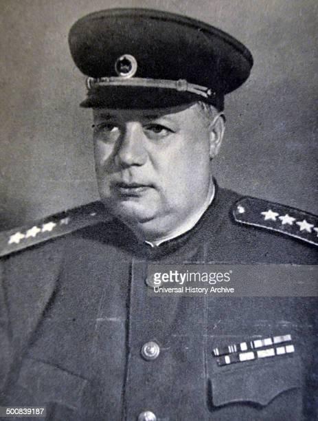 Fyodor Ivanovich Tolbukhin, 1894 –1949. Soviet military commander..