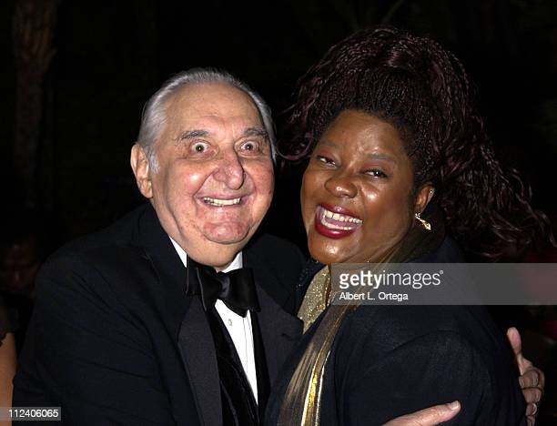 Fyvush Finkel and Loretta Devine during Diversity Awards 10th Anniversary at The Beverly Hills Hotel in Beverly Hills, California, United States.