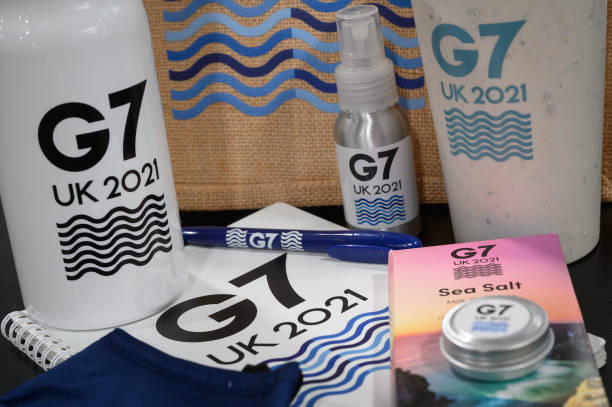 GBR: Cornwall Prepares For Start Of G7 Summit