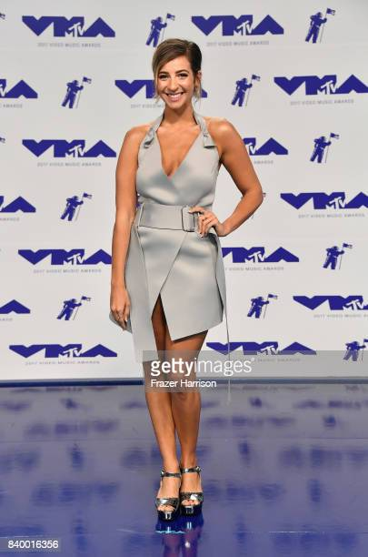 Gabbie Hanna attends the 2017 MTV Video Music Awards at The Forum on August 27 2017 in Inglewood California