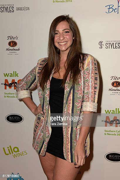 Gabbie Hanna attends the 3rd Annual LA's Walk MS Celebrity Kickoff Event at Bugatta Supper Club on March 25 2016 in Los Angeles California