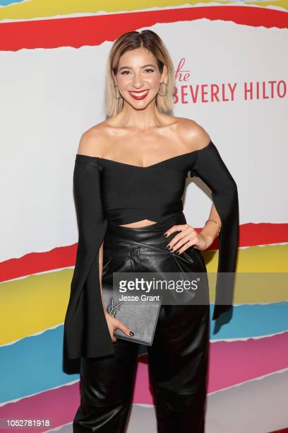 Gabbie Hanna attends The 8th Annual Streamy Awards at The Beverly Hilton Hotel on October 22 2018 in Beverly Hills California
