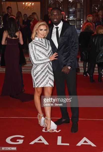 Gabby Allen and Marcel Somerville attend the ITV Gala held at the London Palladium on November 9 2017 in London England
