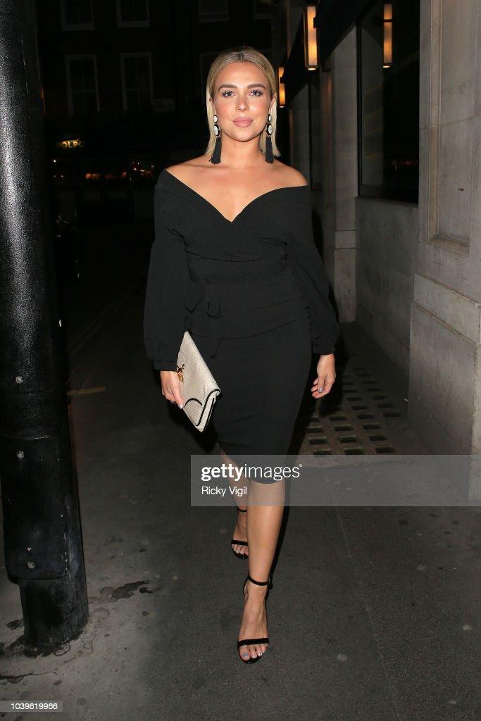 London Celebrity Sightings -  September 24, 2018 : News Photo