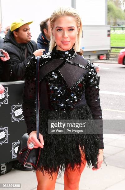 Gabby Allen attending the 2018 TRIC Awards at the Grosvenor House Hotel London