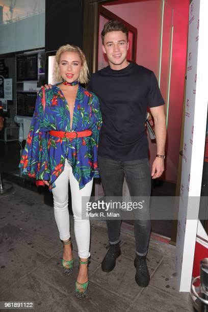 Gabby Allen attending the Gemma Collins X Boo Hoo event at Tonight Josephine on May 23 2018 in London England