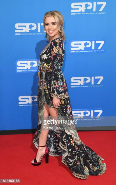Gabby Allen attends the BBC Sports Personality of the Year 2017 Awards at the Echo Arena on December 17 2017 in Liverpool England