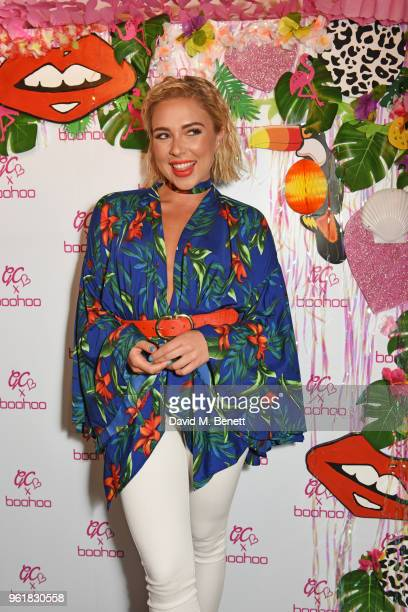 Gabby Allen attends the cocktail launch party to celebrate the Gemma Collins X Boohoo Collection at Tonight Josephine on May 23 2018 in London England