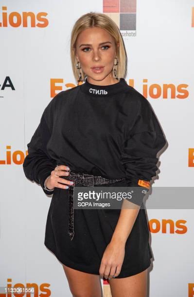 Gabby Allen attends the Eaten By Lions film premiere