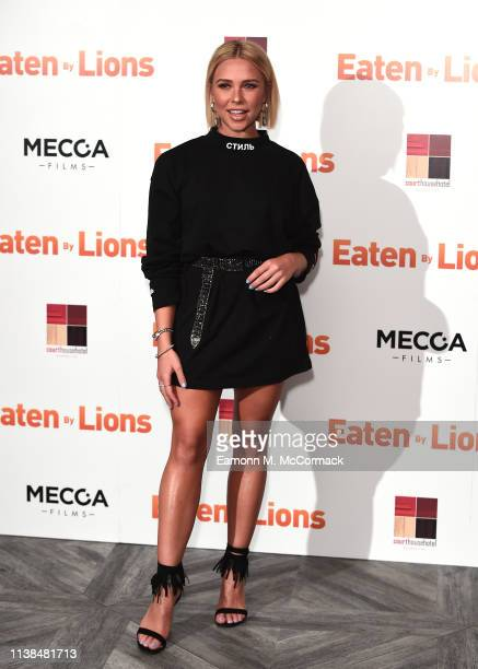 Gabby Allen attends the Eaten By Lions UK premiere at The Courthouse Hotel on March 26 2019 in London England