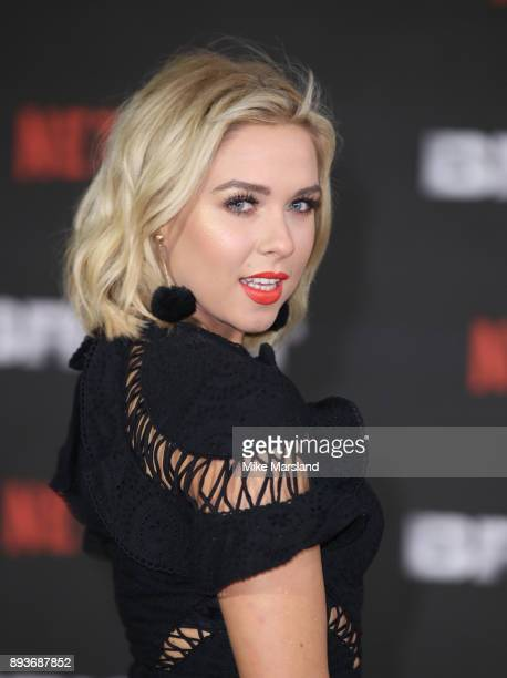 Gabby Allen attends the European Premeire of 'Bright' held at BFI Southbank on December 15 2017 in London England