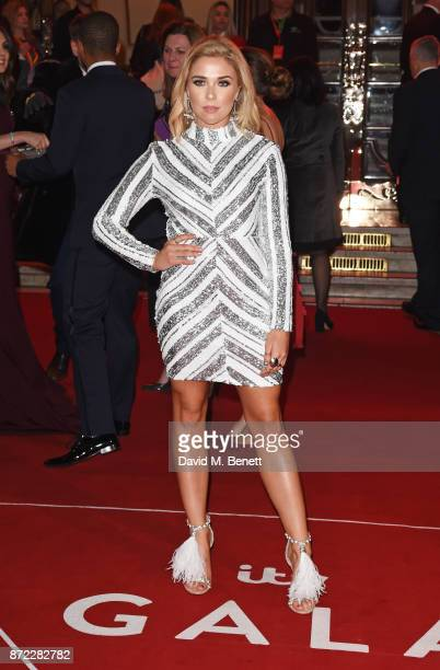 Gabby Allen attends the ITV Gala held at the London Palladium on November 9 2017 in London England