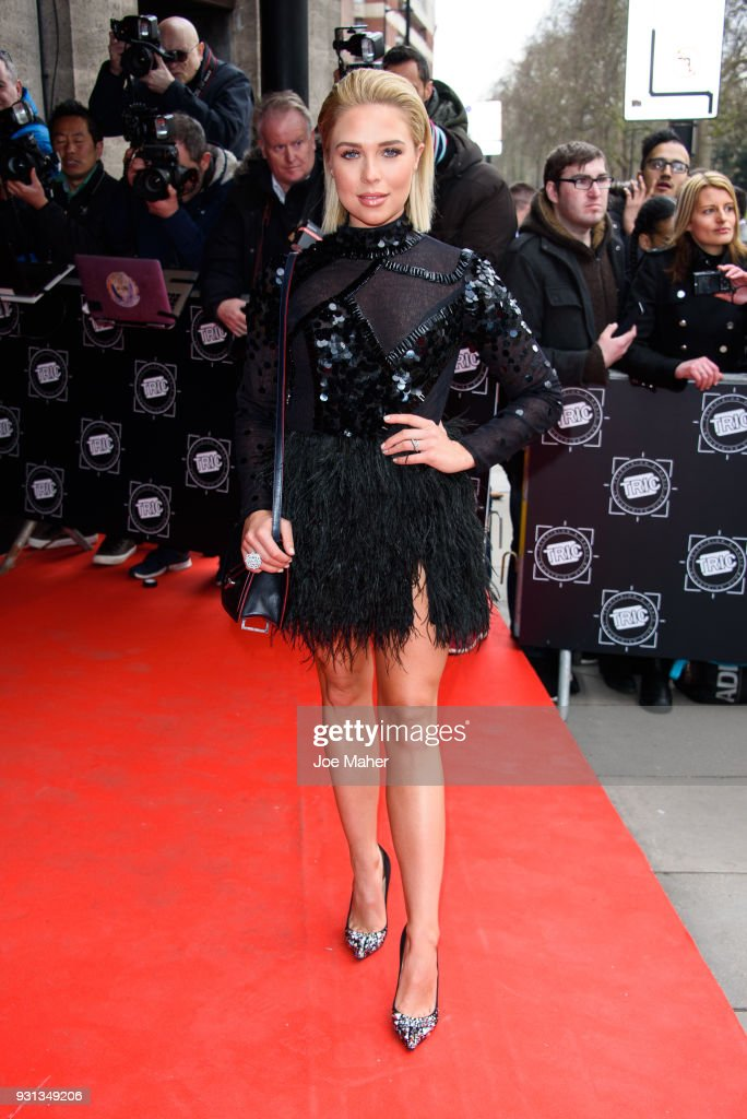 TRIC Awards - Red Carpet Arrivals : News Photo