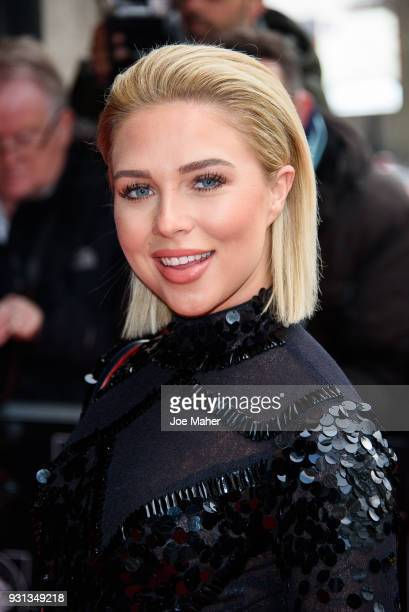 Gabby Allen attends the TRIC Awards 2018 held at The Grosvenor House Hotel on March 13 2018 in London England