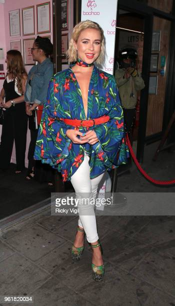 Gabby Allen seen attending GC x Bohoo party at Tonight Josephine on May 23 2018 in London England