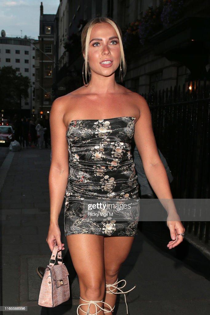 London Celebrity Sightings -  August 1, 2019 : News Photo