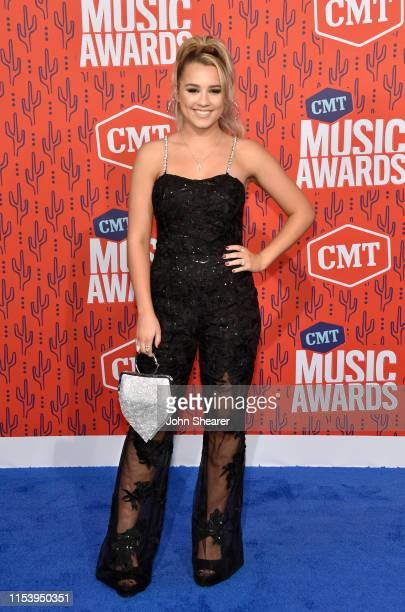 Gabby Barrett attends the 2019 CMT Music Awards at Bridgestone Arena on June 05 2019 in Nashville Tennessee